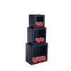 High Quality Black Towel Holder Square Towel Shelf