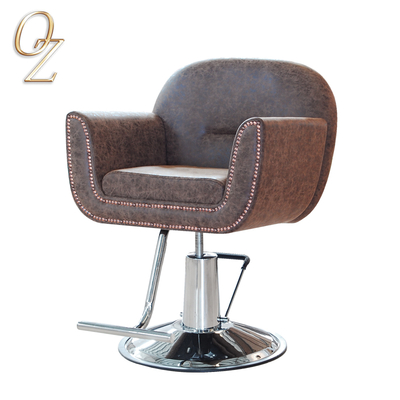 Fashion Industrial Style Leather Salon chair Comfortable Styling Chair Hair Salon Chair