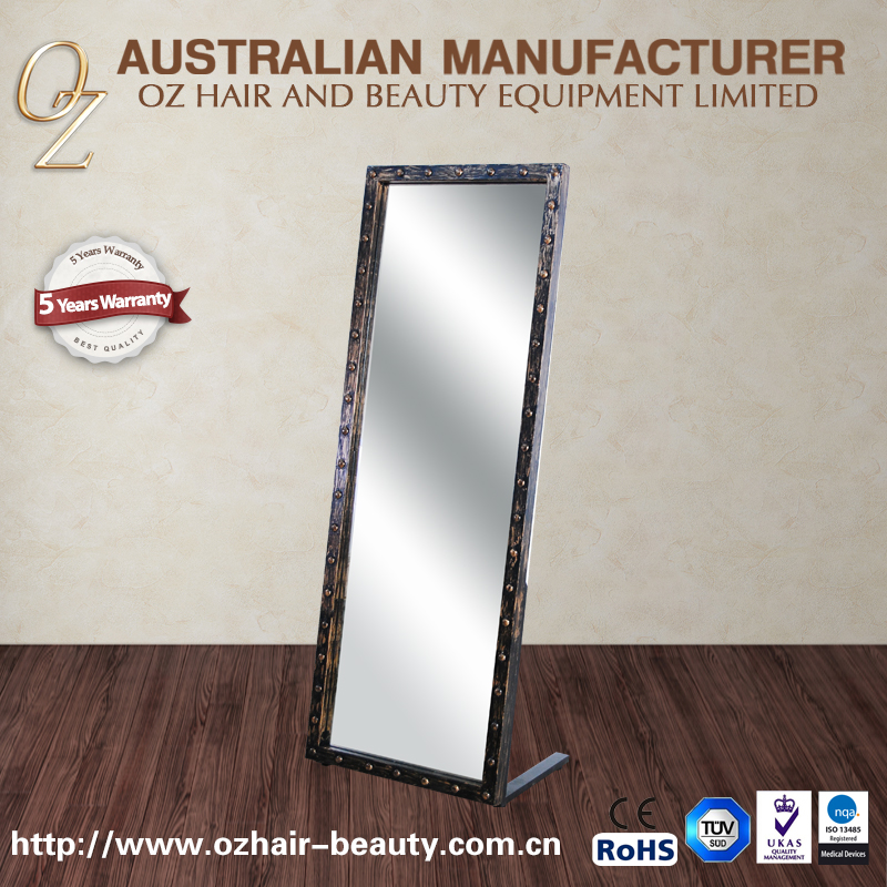 Industry Style Salon Mirror Beauty Hair Salon Mirrors Dressing Hair Mirror Station
