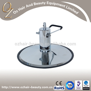 Barber Chair Round Base Hydraulic Pump Base Hair Salon Chair Parts