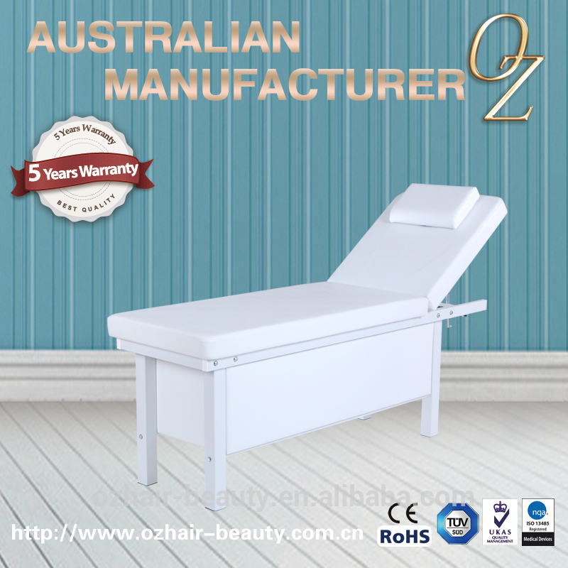 SPA Furniture Facial Bed Beauty Health Massage Bed with Cabinet