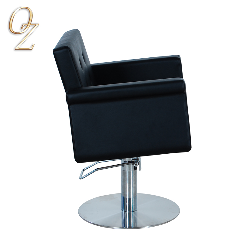 Durable Fire Retardant Foam Hairdressing Chair For Sale Good Price Hydraulic and Reclining Salon Chairs Beauty Shop Furniture