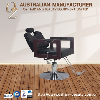 Barber Stool Salon Chairs Wood Hand Rest Barber Chair Manufacturer