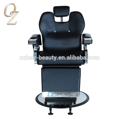 Luxury Design Lockable Barber Chair Beard Shaving Chair Wholesale Beauty Parlor Chair
