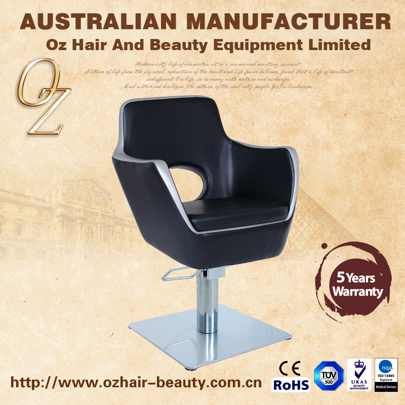 Cutting Chair With Pedal Durable Salon Chairs Hairdressing Barber Chair