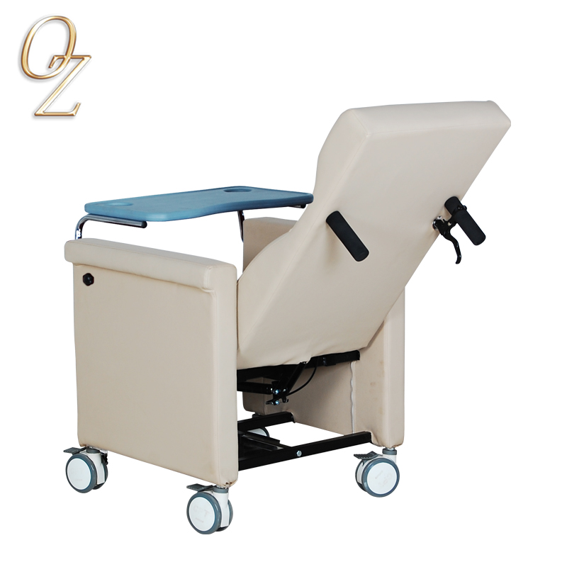 TUV Approved Medical Grade Recovery Room Lift Couch High Back Chair Aged Chairs Manufacturer