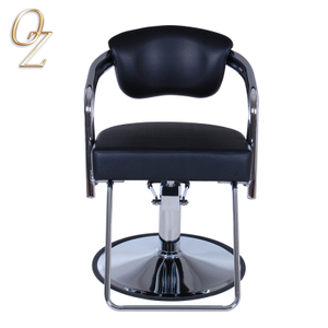 Durable Beauty Salon Furniture With Footrest Australian Owned Memory Foam Haircut Chair Customer Chairs Factory