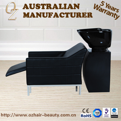 Electric Function Shampoo Chairs With Footrest Hair Salon Equipment Electric Massage Shampoo Unit