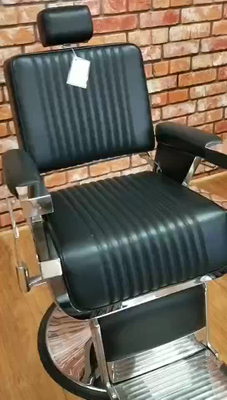 Comfortable Barber Chair Footrest Barber Chair Headrest Hydraulic Barber Chair