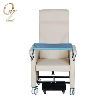 Good Quality Cancer Treatment Reclining Chair Manual Elderly Chair Healthcare Center Nursing Home Furniture Wholesale