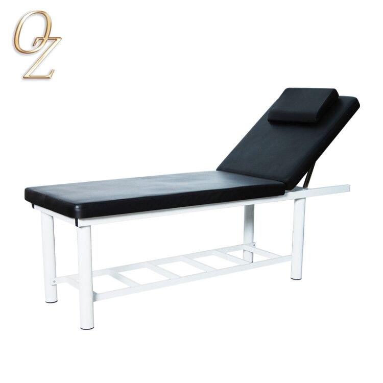 USA Cheap Good Price Black Beauty Bed Facial Bed SPA Body Reclining Massage Table Physical Therapy Treatment Table