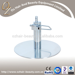 Beauty Salon Chair Base Hydraulic Pump Base With Stainless Steel Barber Chair Accessories Chair Round Base