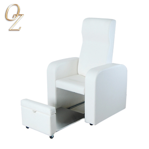 Nobility Design White Foot SPA Pedicure Chair