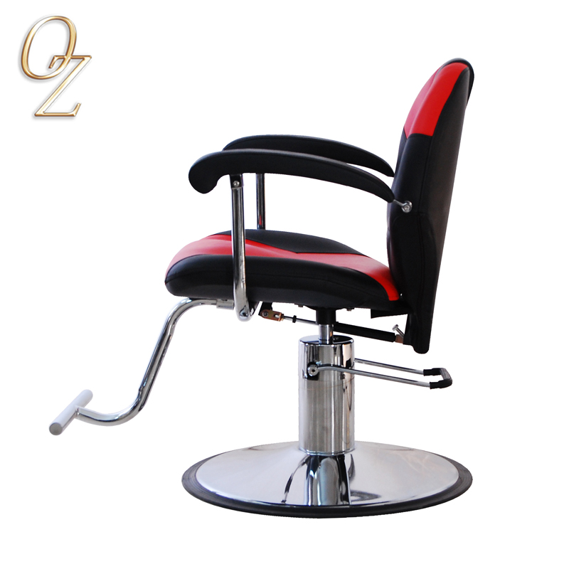 Antique Barber Chair With Headrest Hair Salon Furniture Manufacturer