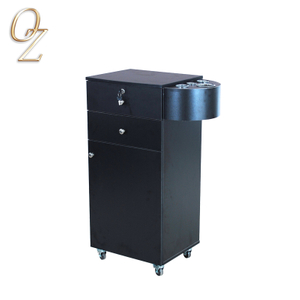 Innovative Beauty Spa Trolley With Hair Dryer Holder Salon Cart Cabinet Work Station