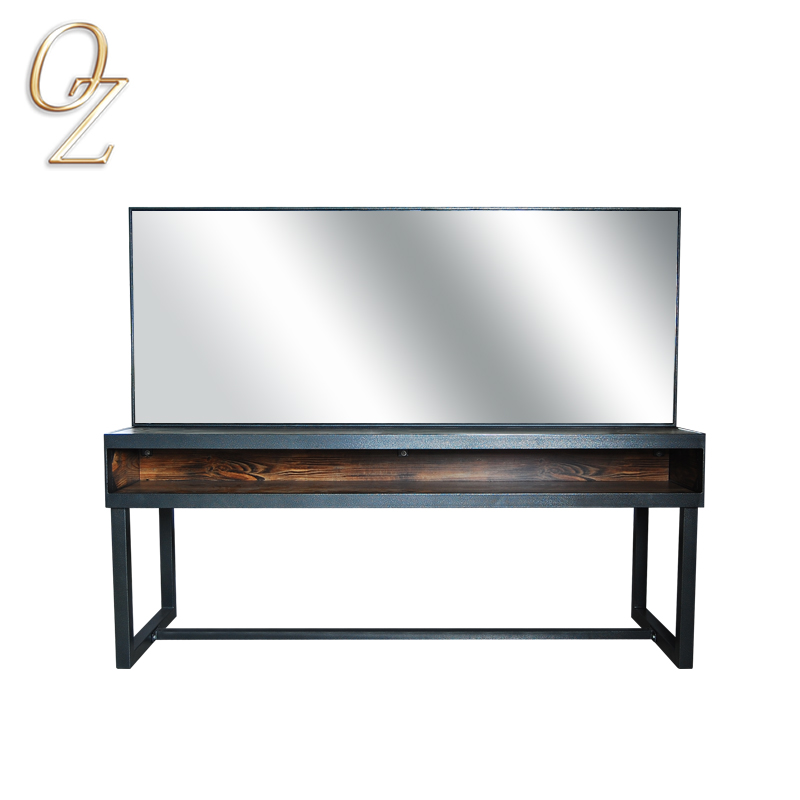 Fashional Frame Mirror Hair Salon Mirrors Loft Style Mirrors Stations