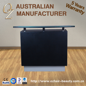 Salon Furniture Desk New Design Reception Desk Reception Counters With Glass Top