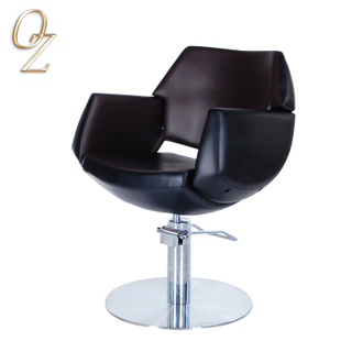Heavy Duty Reclining Hair Styling Chair Wholesale European Standard Beauty Salon Chairs With Footrest Wholesale Furniture