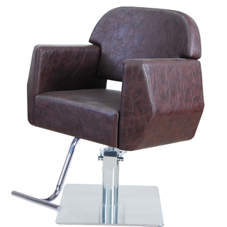 Durable Salon Chair Latex Foam Hair Dressing Chairs Manufacturer Beauty Equipment